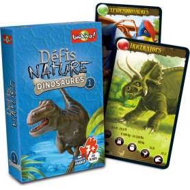 Dinosaurs 1 - Défis Nature - Card Game