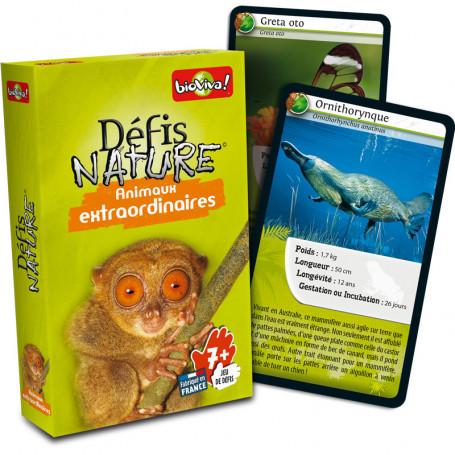 Animaux Extraordinaires - Défis Nature - Jeu de cartes
