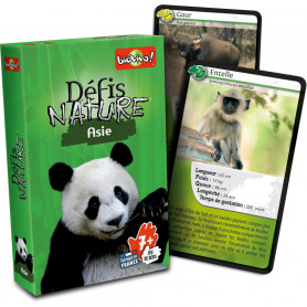 Asie - Défis Nature - Card Game