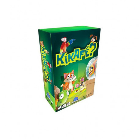 Kikafé? - An exciting and fun card game!