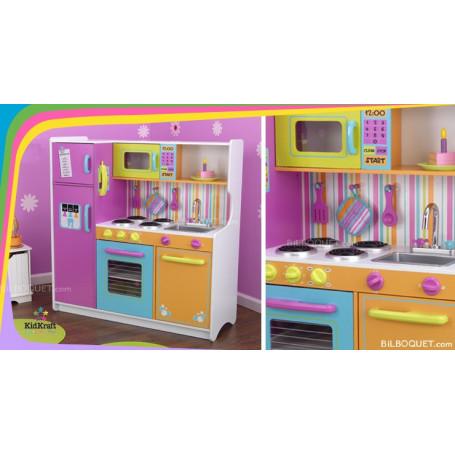 Grande cuisine de luxe aux couleurs vives