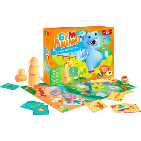 Gym Animo - Le jeu qui a la bougeotte !