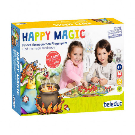 Happy Magic - Find the magic toadstools