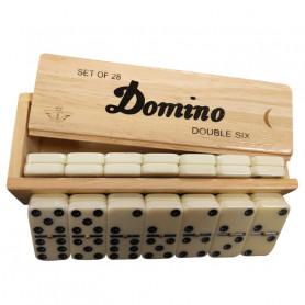 Boîte de 28 Dominos - Domino double 6