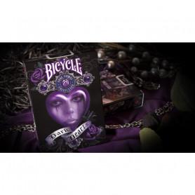 Jeu de cartes classique dark hearts - Bicycle