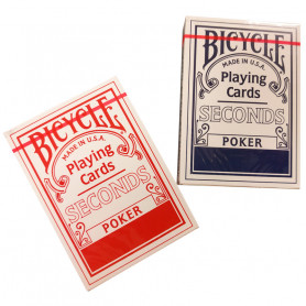 Classic Bicycle seconds poker card game