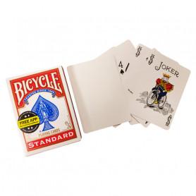 Jeu de carte pour faire de la magie - dos blanc face standard