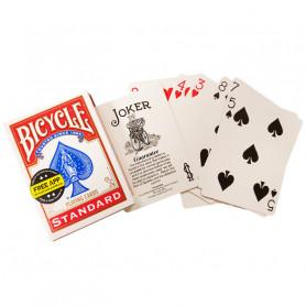 Jeu de cartes pour faire de la magie - double face standard