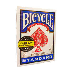 Jeu de cartes pour faire de la magie - face blanche dos blanc