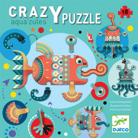 Crazy puzzle - Aqua'zules interchangeable