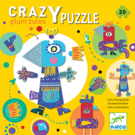 Crazy puzzle - Plum'zules interchangeable