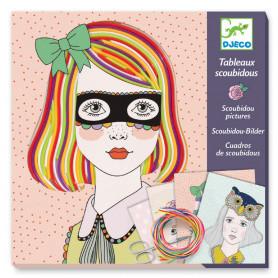 Tableaux scoubidous - Pepsy tifs