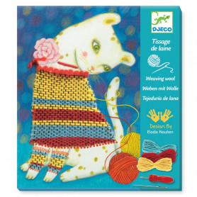Tissage de laine - Pull et pelotes