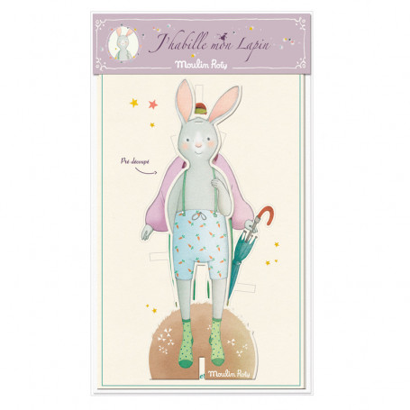Cut-out rabbit to dress