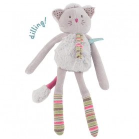 Grey cat Rattle