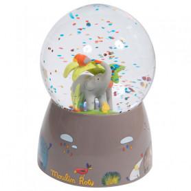 Musical snow globe - Les Papoum