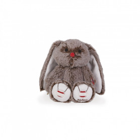 Rabbit Soft Toy, cocoa brown, 22 cm