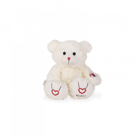 Bear Soft Toy, cream, 22 cm