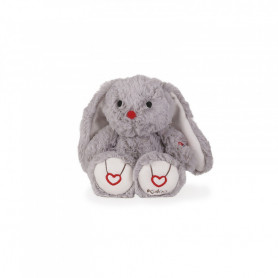 Rabbit Soft Toy, grey, 22 cm