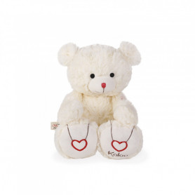 Bear Soft Toy, cream, 31 cm