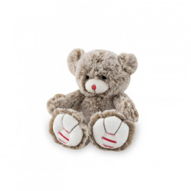 Bear Soft Toy, sandy beige, 19 cm