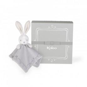 Doudou Poncho Rabbit 20 cm Grey