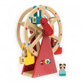 Carnical play set - Wooden ferris wheel