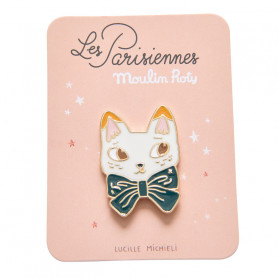 Pin's émaillé - Chat