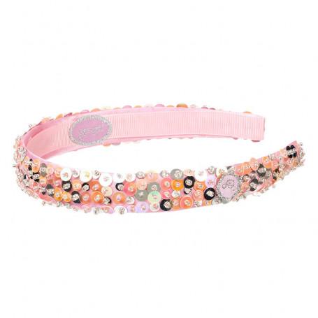 Ear muffs Ellinie, pink - Accessory for girls