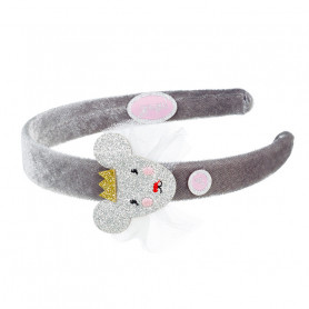 Ear muffs Justine, mouse - Accessory for girls