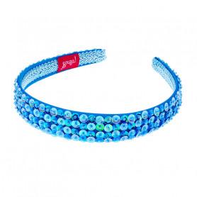 Serre-tête Désirée, bleu - Accessoire pour les filles