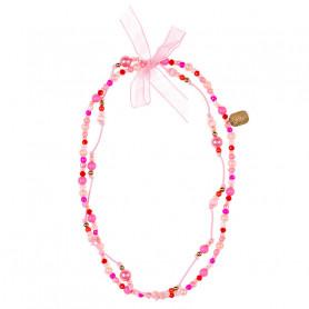 Collier Trixy, rose fuchsia - Accessoire pour les filles