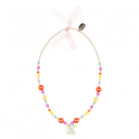 Necklace Maren, swan - Accessory for girls