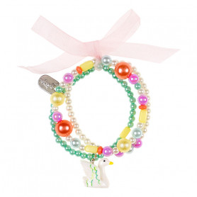 Bracelet Maren, swan - Accessory for girls
