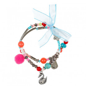 Bracelet Pam, swan - Accessory for girls