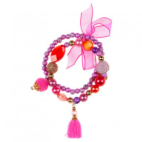 Bracelet Lexi, purple - Accessory for girls