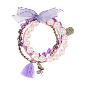 Bracelet Evelina, lilac - Accessory for girls