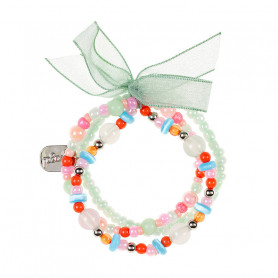 Bracelet Trixy, green - Accessory for girls