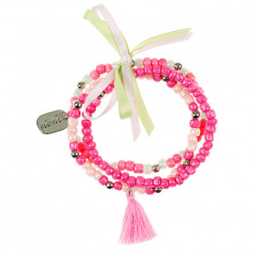Bracelet Brenda, pink - Accessory for girls