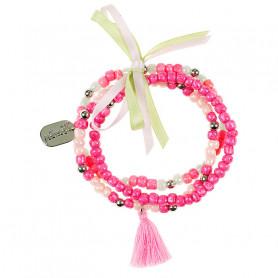 Bracelet Brenda, rose - Accessoire pour les filles