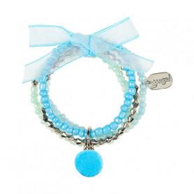 Bracelet Jolita, bleu - Accessoire pour les filles