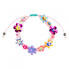 Bracelet Flory, flowers - Accessory for girls