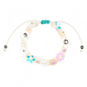 Bracelet Flory blanc - Accessoire pour les filles