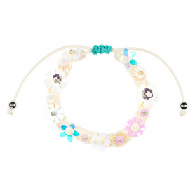 Bracelet Flory white - Accessory for girls