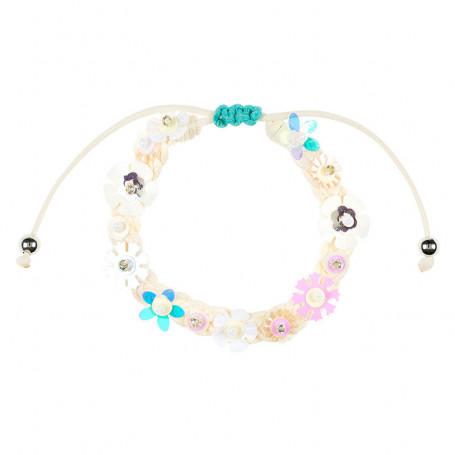 Bracelet Flory white - Accessory for girls