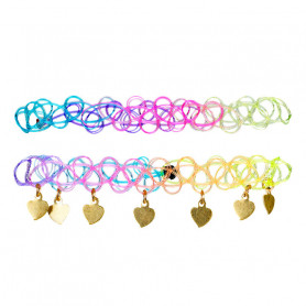 Bracelets Yola, hearts - Accessory for girls