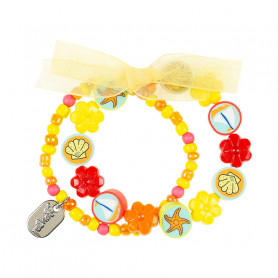 Bracelet Isla, yellow - Accessory for girls