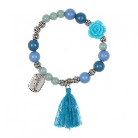 Bracelet Riette, bleu - Accessoire pour les filles