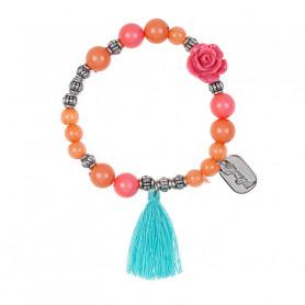 Bracelet Riette, orange - Accessoire pour les filles