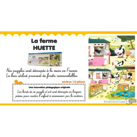 Puzzle d'art Ferme (Olivier Huette)